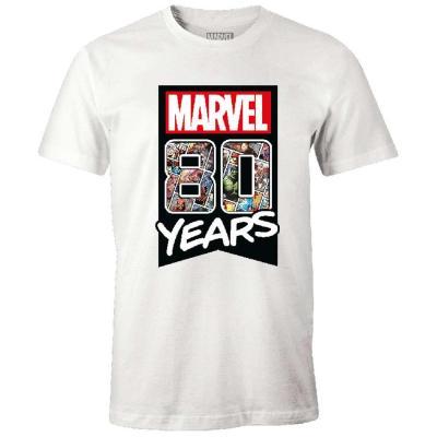 Marvel t shirt marvel 80 years