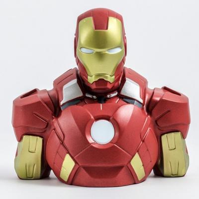 Marvel tirelire boite blister iron man bust 20 cm