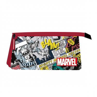 Marvel trousse 3 zippers