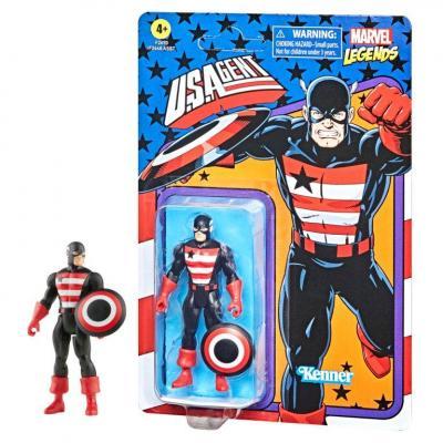 Marvel u s agent figurine legends retro series 10cm