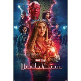 Marvel wandavision poster 61x91cm
