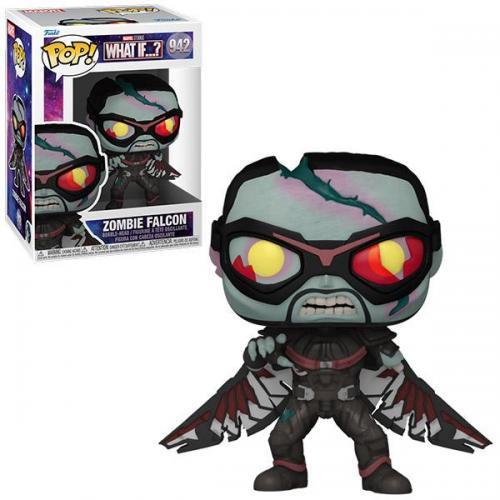 Marvel what if bobble head pop n 942 zombie falcon