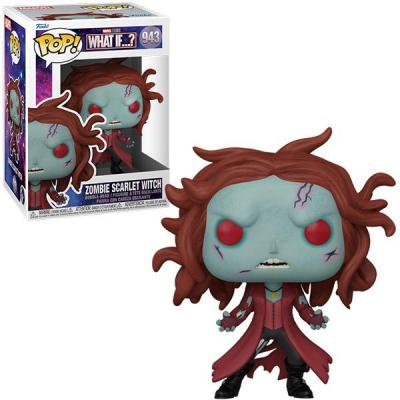 Marvel what if bobble head pop n 943 zombie scarlet witch