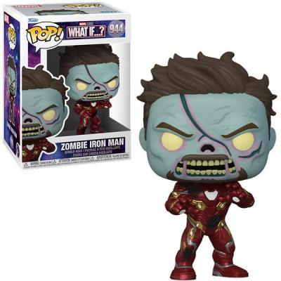 Marvel what if bobble head pop n 944 zombie iron man