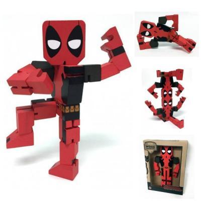 Marvel wooden figure deadpool 20cm