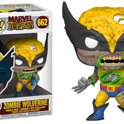 Marvel zombies bobble head pop n 662 wolverine