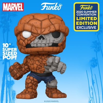 Marvel zombies bobble head pop n 665 zombie the thing 10 ss
