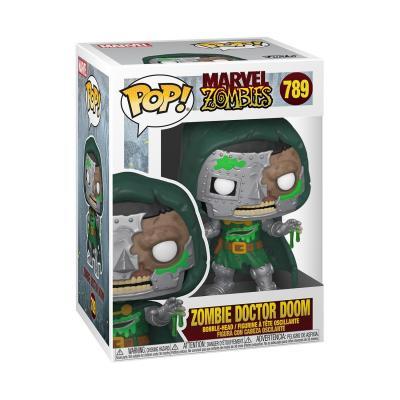 Marvel zombies bobble head pop n 789 dr doom