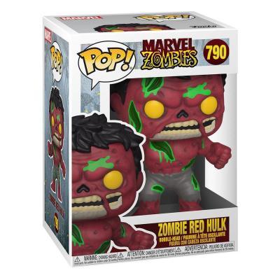 Marvel zombies bobble head pop n 790 red hulk