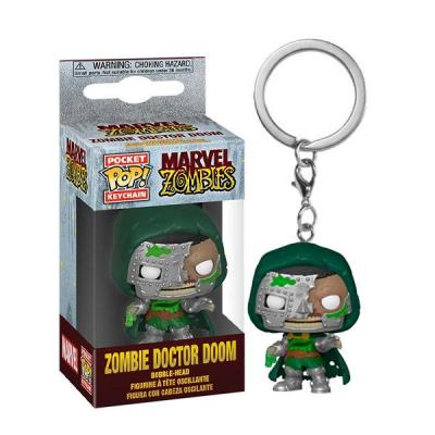 Marvel zombies pocket pop keychains dr doom 4cm