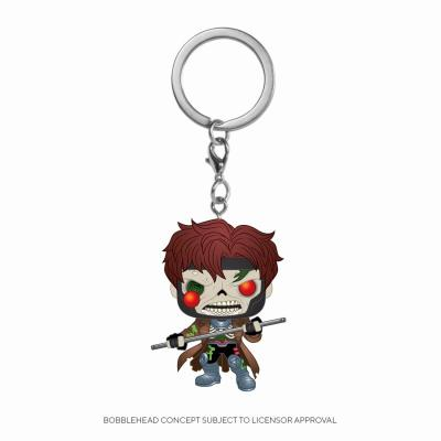 Marvel zombies pocket pop keychains gambit 4cm