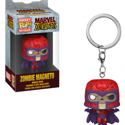 Marvel zombies pocket pop keychains magneto 4cm