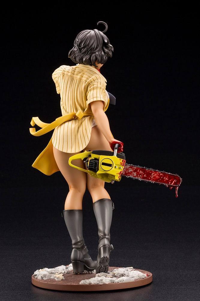 Massacre a la tronconneuse leatherface statuette bishoujo 22cm 3