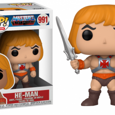 Masters of the universe bobble head pop n 991 he man