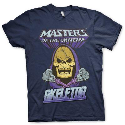 Masters of the universe t shirt skeletor