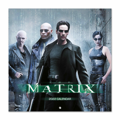 Matrix calendrier 2022 30x30cm