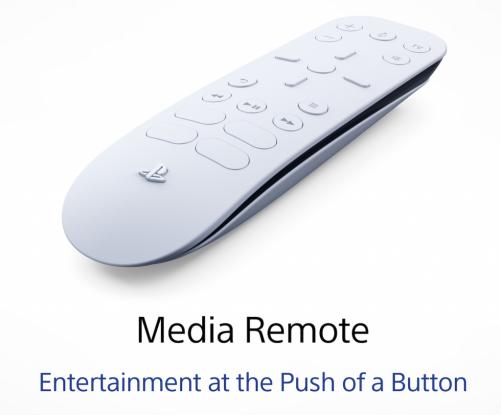 Media remote ps5