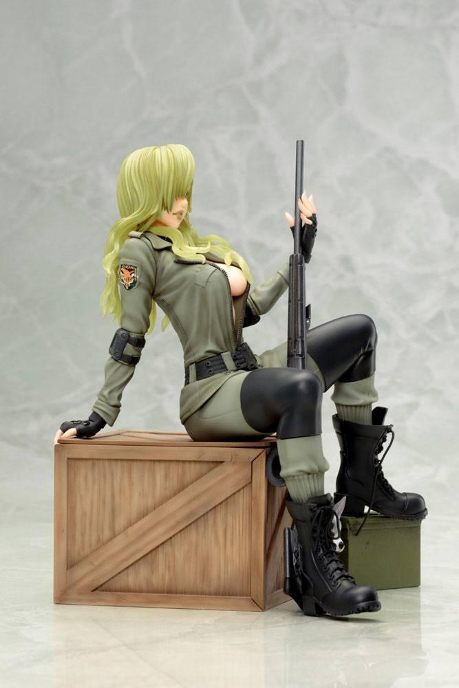 Metal gear solid sniper wolf statuette bishoujo 19cm 1