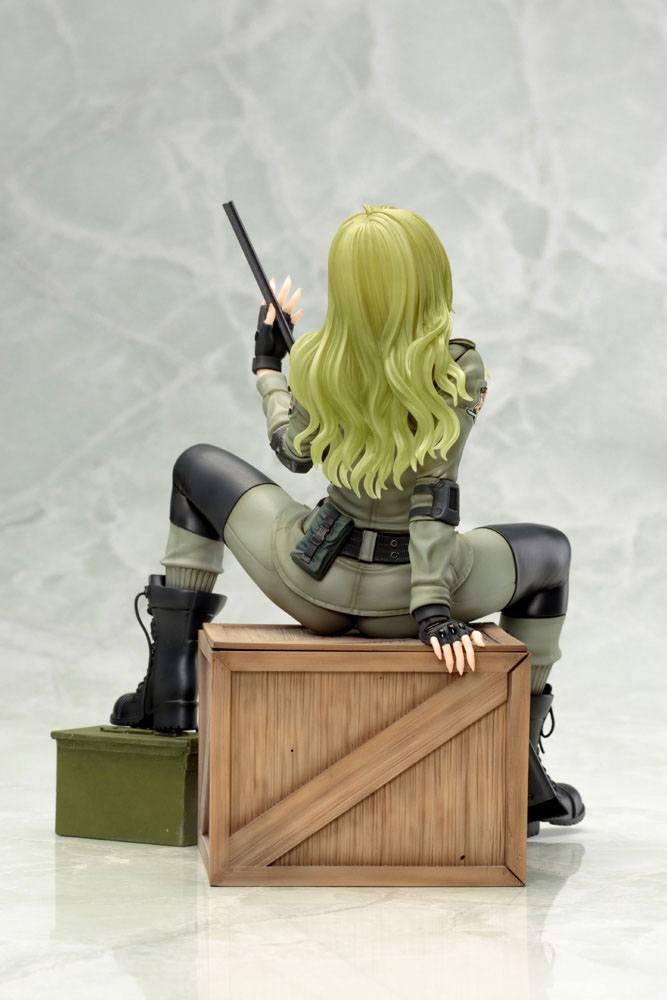 Metal gear solid sniper wolf statuette bishoujo 19cm 2