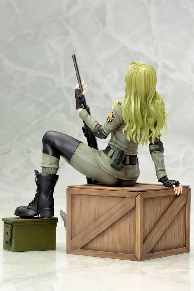 Metal gear solid sniper wolf statuette bishoujo 19cm 3