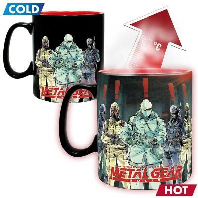 Metal gear solid solid snake mug thermoreactif 460ml