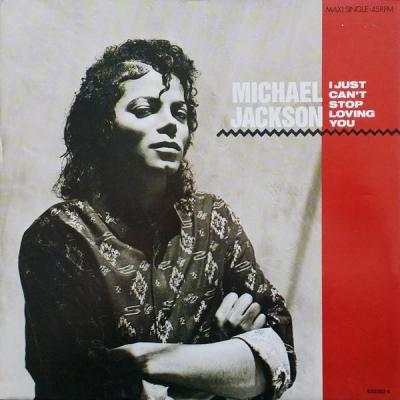 Michael jackson i just can t stop loving you maxi 45t
