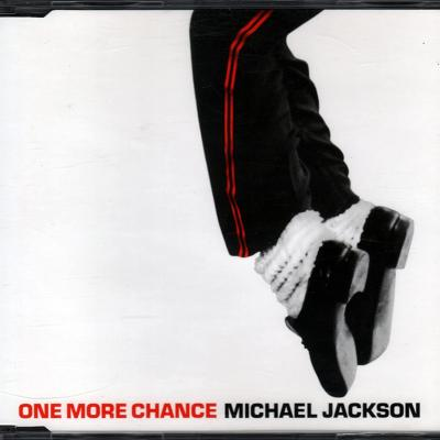 Michael jackson one more chance maxi cd promo