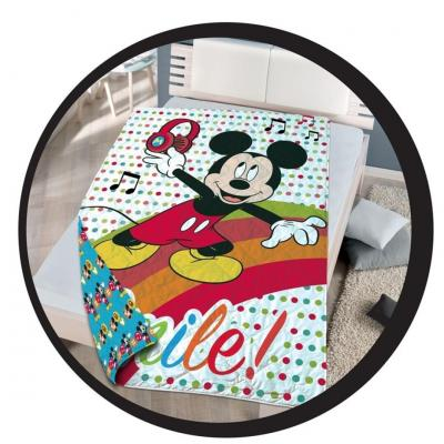 Mickey couette couvre lit 140x200 disney