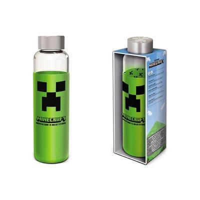 Minecraft bouteille en verre format 585ml