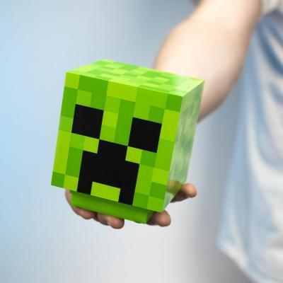 Minecraft creeper lampe decorative