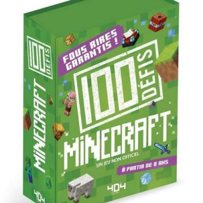 Minecraft mes 100 defis minecraft