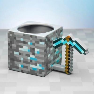 Minecraft pickaxe mug 3d 330ml
