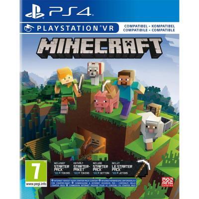Minecraft starter collection playstation 4