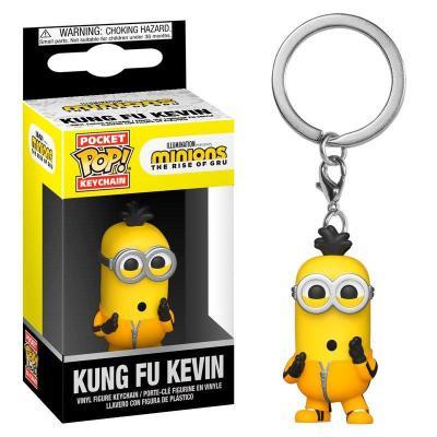 Minions 2 pocket pop keychain kung fu kevin 1