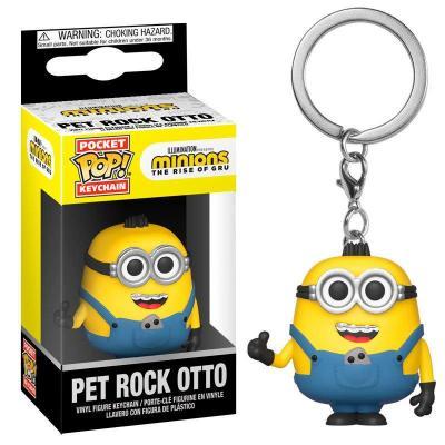 Minions 2 pocket pop keychain pet rock otto 1