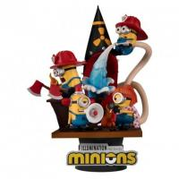 Minions fire fighter diorama d stage 15cm