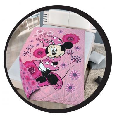 Minnie couette couvre lit 140x200cm disney