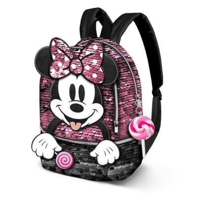 Minnie lollipop sac a dos 32 5x26x14 5cm