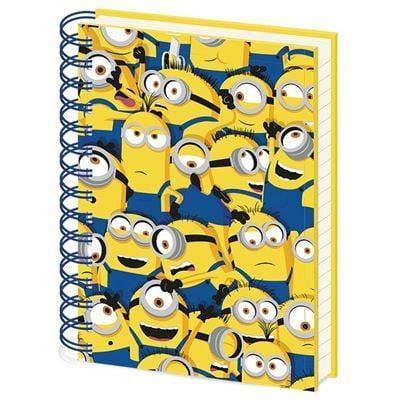 Minons 2 many minions notebook a5
