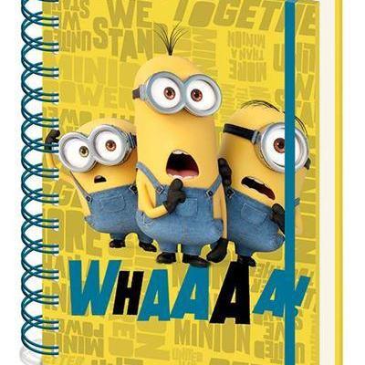 Minons 2 whaaaa notebook a5