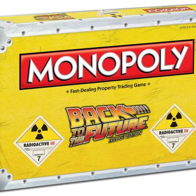 Monopoly back to the future box
