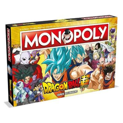 Monopoly dragon ball super fr