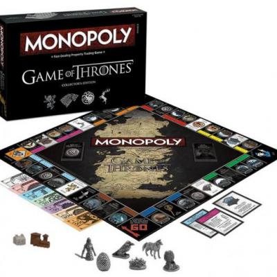 Monopoly game of thrones fr