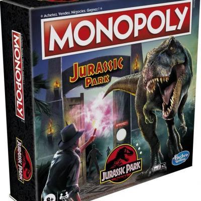Monopoly jurassic park fr