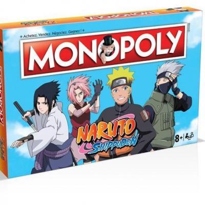 Monopoly naruto shippuden version francaise