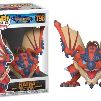Monster hunter bobble head pop n 798 ratha