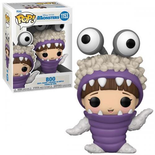 Monster inc 20th bobble head pop n 1153 boo w hood up