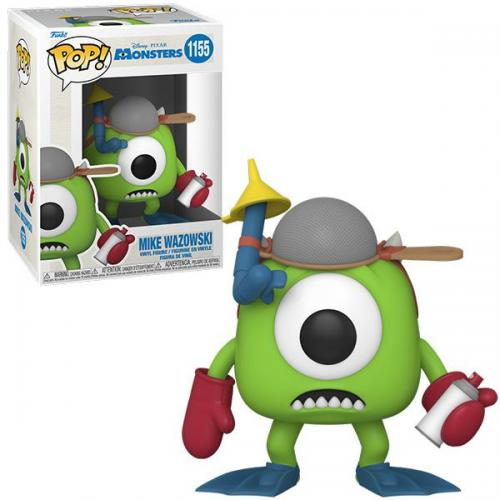 Monster inc 20th bobble head pop n 1155 mike w mitts