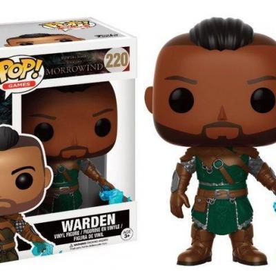 Morrowind bobble head pop n 220 warden