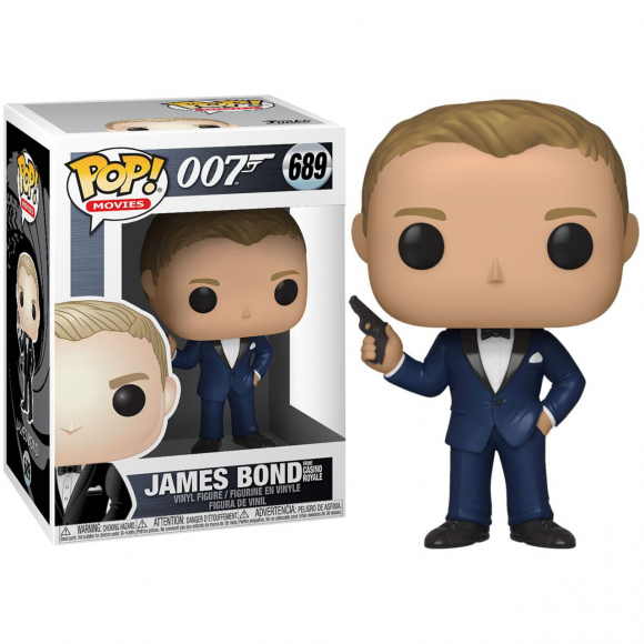 Movies bobble head pop n 689 james bond casino royal